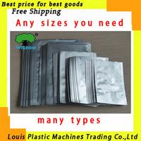 Free shipping Aluminum Foil Bags Can Vacuum Food Bags 100pcs/lot or Zip lock packing bag aluminum bag plastic packing bags