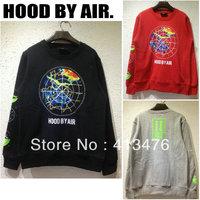 2013 HBA brand men's pullover long sleeve HOOD BY AIR instrument print hoodies jumper fleeces hoodies Sweatshirts sweater tag