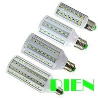 5730 LED lamparas 7W 10W 12W 15W 25W 30W E27 Lamp corn Bulb Spot indoor lighting 220V home kicthen Free shipping 2pcs