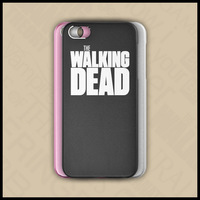 Free shipping protect case for iPhone 5s/5 TV series The Walking Dead theme with 3 colors