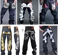 New Freeshipping Loose Harem Pants Mid 2014 Men Jeans. Hip-hop Jeans Celebrity Endorsements Hip Hop Jeans/haroun Pants Trousers