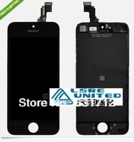 Wholesale - For iPhone 5C complete LCD screen with glass digitizer touch assembly