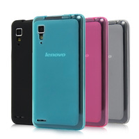 2014 new Soft TPU Back Case Cover Shell for Lenovo P780 Pudding Style Fashion