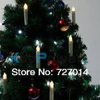 wireless remote control led christmas light with battery operated hanging on the Christmas tree