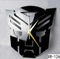Hot Sale Personality Wall Clock Mirror Clock Home Decoration Modern Art Design DIY 3D Stickers XR126
