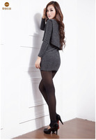 Korean version of the anti-snagging Leggings / Cotton Flax plus thick velvet leggings