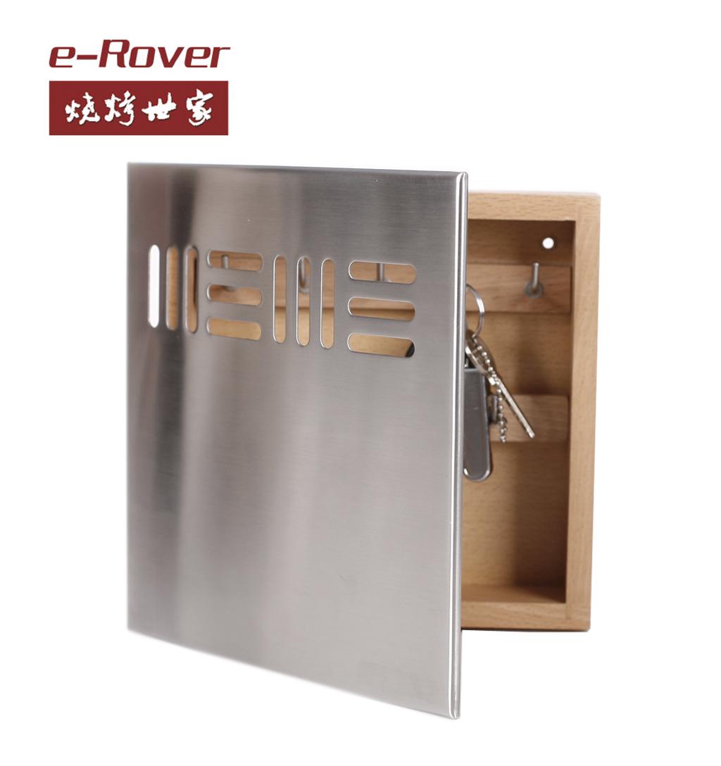 Key box home decoration wall key cabinet safe storage cabinet(China (Mainland))