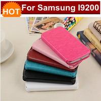 Multi colors choice for samsung Galaxy note i9220 free shipping  PU+TPU aliexpress i9200 flip case from shenzhen