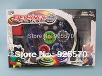 Rare Beyblade Ultimate 4D Top Rapidity Metal Fusion Fight Master Masters Set cem, original box NEW