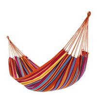 Outdoor thickening canvas hammock multicolour camping hammock swing casual cloth bag nonload bearing lashing