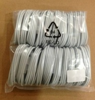 Free shipping 2000Pcs 3M High quality 1M white  USB data&Charging cable for iphone 5 5S 5C /ipod touch 5/ipod nano 7 wholesale