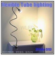 50cm Long Tube Warm white LED desk lamp Clip style with plug AC5-265V 3W High Power