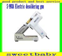 Most Free shipping 220v/100W Electric desoldering gun  vacuum pump gun solder