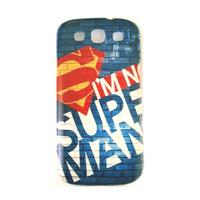 For samsung i9300  for SAMSUNG i9300 phone case mobile phone case protective case  for SAMSUNG s3 phone case super man