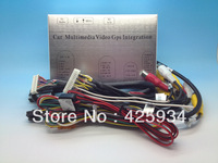 Multimedia Video Interface For AUDI 2G MMI A6  A8 Q7 2004-2008 (Built-in GPS Function)