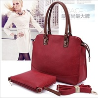 New 2014  Guarantee 100% genuine leather handbag , Women's  Fashion Casual shoulder bag noble messenger bags Free Shipping