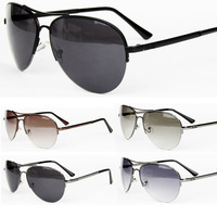Free Shipping 1pcs Men Sunglasses Alloy Frame mens Sun glasses Excellent Sunglasses Wholesale