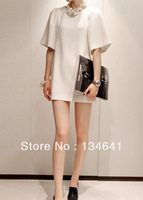 Fall 2013 women's new Korean Shopping Korean Slim stylish silk dress Puff explosive temperament
