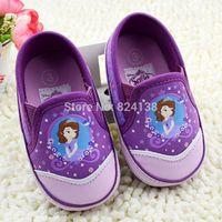 Retail 2014 New Summer Frozen Cartoon Baby Shoes Soft Sole Pre-walker Frist Walkers Shoes,Indoor Kids Shoes,0-18M