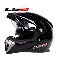 Ls2 helmet ls2 off-road helmet dual double lens cross-country off-road helmet ff455 air-sac