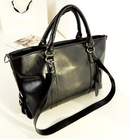 New 2014 wholesale woman big vintage motorcycle bags one shoulder handbag girls fashion messenger bags