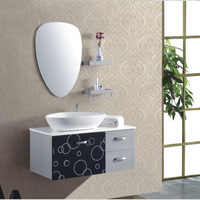 High quality stainless steel bathroom cabinet combination wash basin cabinet combination counter basin bathroom cabinet wash