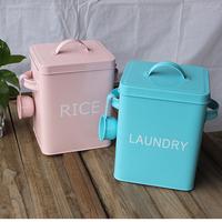 2014 Washing powder bucket storage box , storage bucket rice bucket snacks meters washing powder bucket