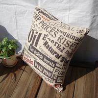2014 Thick fluid , zakka kaozhen fabric cushion car pillow core