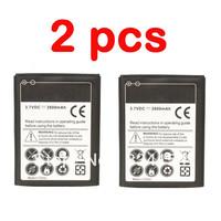 2 pcs 2600mAh Battery for Samsung Galaxy Note i9220 N7000 LTE i717