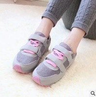 College Wind Velcro sneakers women low shoes casual shoes student shoes free shipping