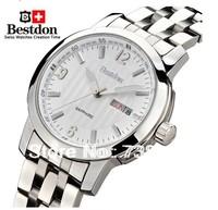 Swiss  Bestdon Watch male waterproof mechanical mens watch fully-automatic stainless steel calendar luminous watch bd7104g