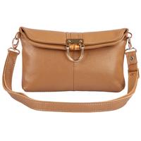 2014 Multifunction Women's 100% Genuine Leather handbag clutch fashion Cowhide women's Shoulder messenger bag Free Shipping