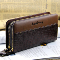 Hot sale design wallet fashion bag man mobile phone bag day clutch bag clutch with PU leather Free Shipping