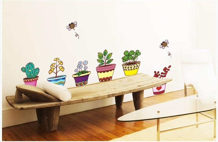 Baño One Piece Trebol:envío gratis de planta de maceta de flores de la naturaleza de la
