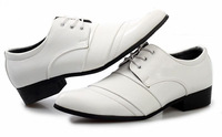 2014 Mens Pointed Toe Lace-up Leather Oxfords Shoes Dropship