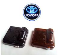 Car Laser Wireless sensor Door Logo Courtesy Shadow Light Lamp for Toyota