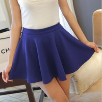 The new spring dress 2014 han edition of tall waist candy color skirt sundress women skirts -Free shipping