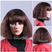 bob hair wigs for women display wigs short natural brown hair wigs online high quality synthetic hair