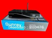 5piece original Sunray4 HD se SR4 800HD se 3 in 1 tuner -T -C -S(2S) Triple tuner wifi with 2.10 sim card