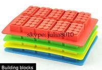 Creative DIY tool Blocks Ice Cube plastic ice box New exotic Creative Ice mold 10pcs/lot wholesale