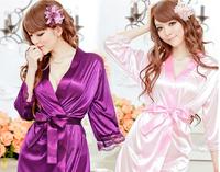 2014 new sexy pajama sets  women robe bathrube and  sleepwear