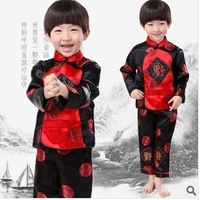 2014 spring child tang suit performance wear costume male child tang suit autumn set baby tang suit