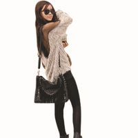 WS1007 NEW Women Sheer Mesh Back See Through Blouse Casual Long Sleeve Top Plush Velour