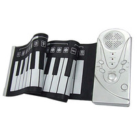49 Keys Roll Up Electronic Flexible Foldable Keyboard Piano Soft Hand Music Organ Portable kids gifts