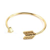 2014 New 14K gold-plated punk arrowhead jewelry bijouterie charm bracelets & bangles for women&men B1-114