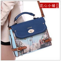 Fashion women's handbag 2014 british style women's bags vintage small one shoulder