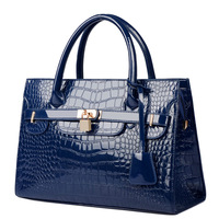 2014 women's handbag women's handbag bag shoulder bag messenger bag female crocodile pattern handbag women's