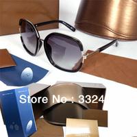Free Shipping new 2014 oculos de sol sunglasses women fashion brand designer Luxury Sunglasses Original package in stock