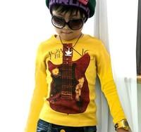 Promotions 2014 Spring  children clothing Boy  Girls t-shirt high quality kids t shirts designer children t shirt