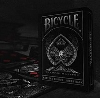 Bicycle Poker SHADOW MASTER Best Playing Cards Magic Poker Bicycle